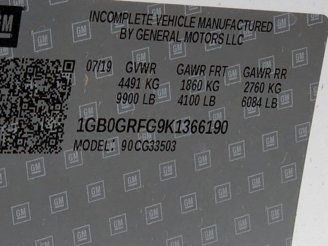 2019 Express 3500 4x2, Knapheide KUV Service Utility Van #K1366190 - photo 19