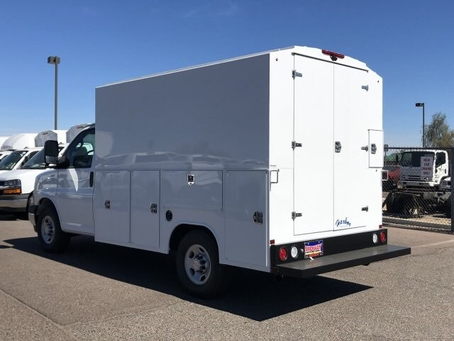 2019 Express 3500 4x2,  Harbor Service Utility Van #K1366587 - photo 1