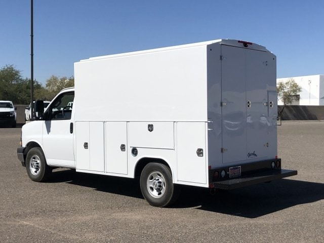 2019 Express 3500 4x2,  Harbor Service Utility Van #K1366663 - photo 1