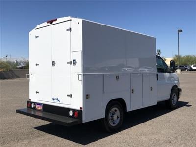 2019 Express 3500 4x2,  Harbor WorkMaster Service Utility Van #K1366663 - photo 5