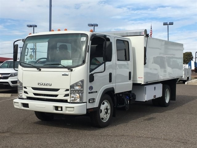 2019 NQR Crew Cab 4x2,  Drake Equipment Landscape Dump #K7900920 - photo 1