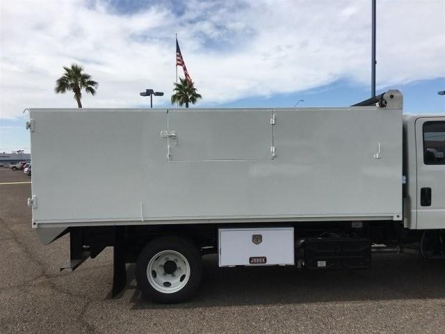 2019 NQR Crew Cab 4x2,  Drake Equipment Landscape Dump #K7900920 - photo 6