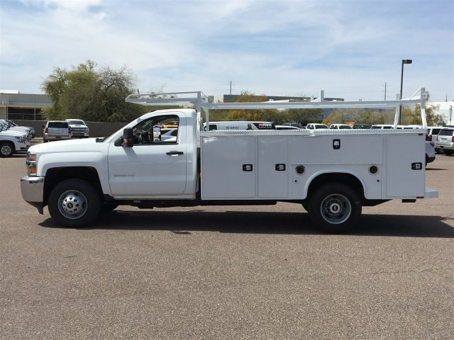 2019 Silverado 3500 Regular Cab DRW 4x2,  Knapheide Standard Service Body #KF109528 - photo 7