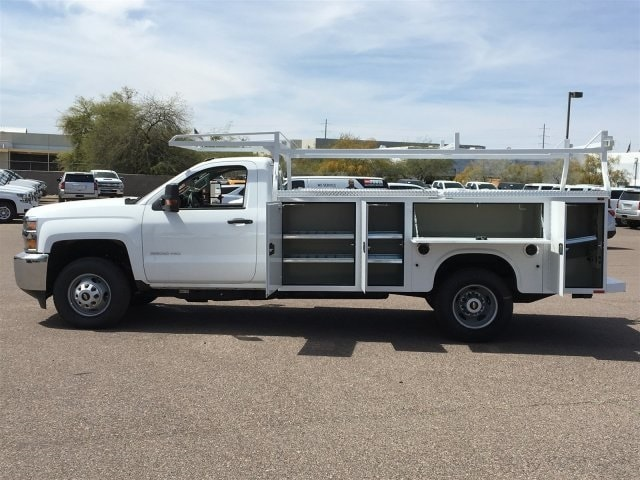2019 Silverado 3500 Regular Cab DRW 4x2,  Knapheide Standard Service Body #KF109528 - photo 8