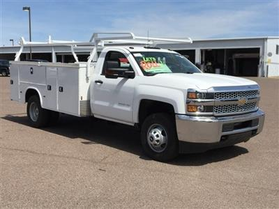 2019 Silverado 3500 Regular Cab DRW 4x2,  Knapheide Standard Service Body #KF109528 - photo 3