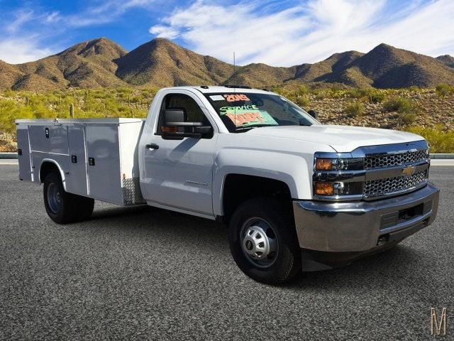 2019 Silverado 3500 Regular Cab DRW 4x2,  Knapheide Service Body #KF109724 - photo 1