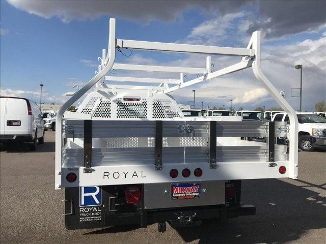 2019 Silverado 3500 Regular Cab DRW 4x2,  Royal Contractor Body #KF120173 - photo 8