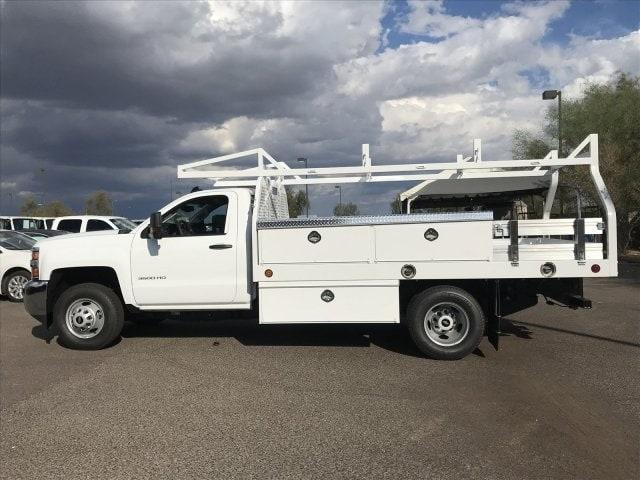 2019 Silverado 3500 Regular Cab DRW 4x2,  Royal Contractor Body #KF120173 - photo 9