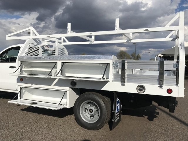 2019 Silverado 3500 Regular Cab DRW 4x2,  Royal Contractor Body #KF120173 - photo 10