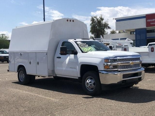 2019 Silverado 3500 Regular Cab DRW 4x2,  Royal RSV Service Utility Van #KF121773 - photo 9