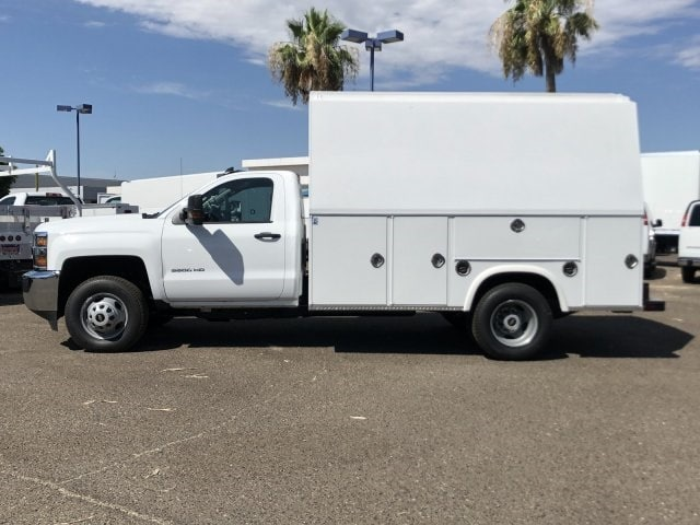 2019 Silverado 3500 Regular Cab DRW 4x2,  Royal RSV Service Utility Van #KF121773 - photo 3
