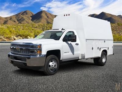 2019 Silverado 3500 Regular Cab DRW 4x2,  Royal RSV Service Utility Van #KF121773 - photo 1