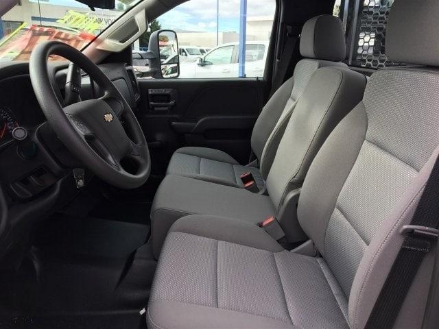 2019 Silverado 3500 Regular Cab DRW 4x2,  Knapheide Value-Master X Stake Bed #KF122382 - photo 14