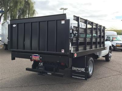 2019 Silverado 3500 Regular Cab DRW 4x2,  Knapheide Value-Master X Stake Bed #KF122382 - photo 3