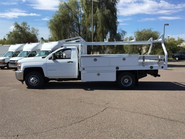 2019 Silverado 3500 Regular Cab DRW 4x2,  Royal Contractor Body #KF158197 - photo 5