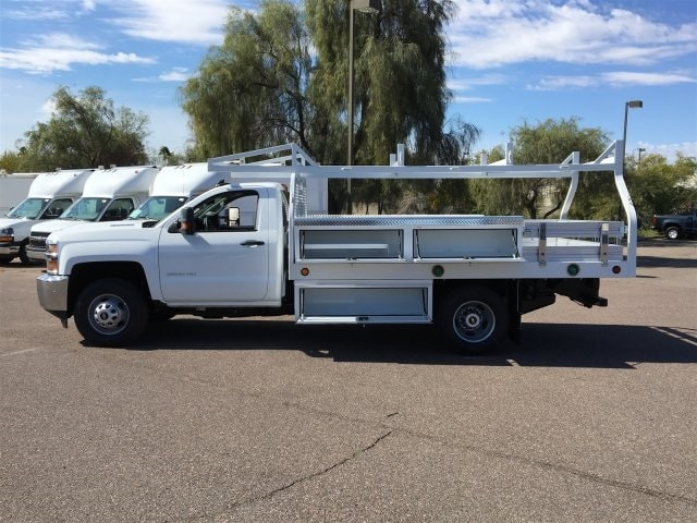 2019 Silverado 3500 Regular Cab DRW 4x2,  Royal Contractor Body #KF158197 - photo 6