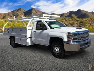 2019 Silverado 3500 Regular Cab DRW 4x2,  Royal Contractor Body #KF158197 - photo 1
