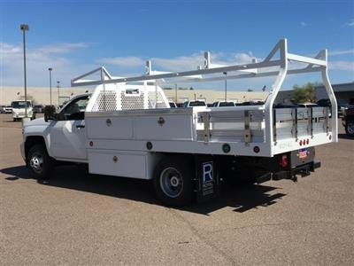 2019 Silverado 3500 Regular Cab DRW 4x2,  Royal Contractor Body #KF158197 - photo 4