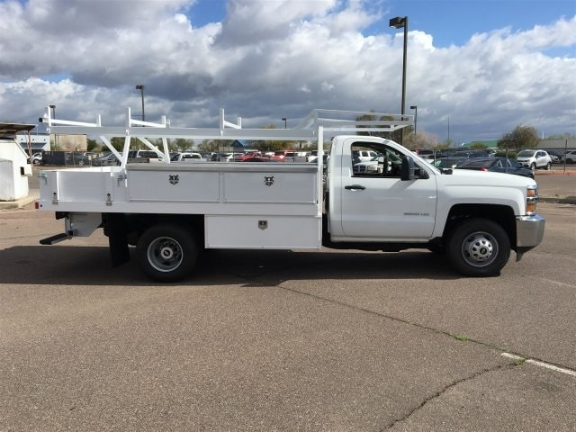 2019 Silverado 3500 Regular Cab DRW 4x2,  Harbor Standard Contractor Body #KF158516 - photo 5