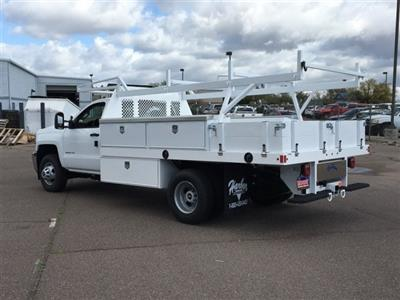 2019 Silverado 3500 Regular Cab DRW 4x2,  Harbor Standard Contractor Body #KF158516 - photo 2