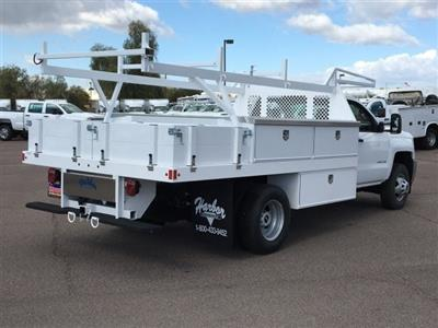 2019 Silverado 3500 Regular Cab DRW 4x2,  Harbor Standard Contractor Body #KF158516 - photo 4