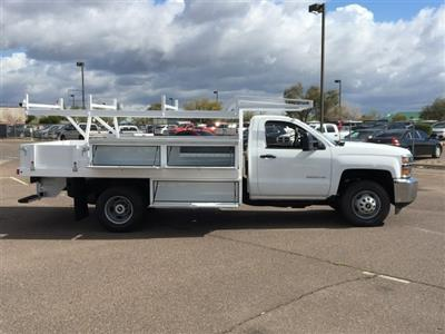 2019 Silverado 3500 Regular Cab DRW 4x2,  Harbor Standard Contractor Body #KF158516 - photo 6