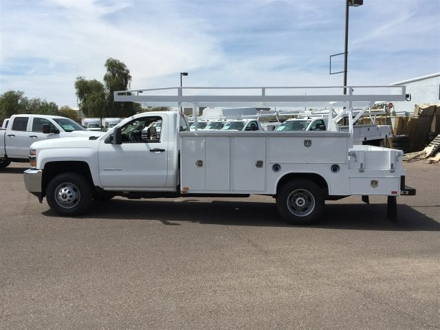 2019 Silverado 3500 Regular Cab DRW 4x2,  Harbor ComboMaster Combo Body #KF161387 - photo 7