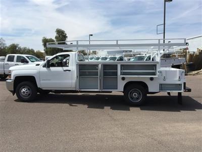 2019 Silverado 3500 Regular Cab DRW 4x2,  Harbor ComboMaster Combo Body #KF161387 - photo 8