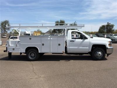 2019 Silverado 3500 Regular Cab DRW 4x2,  Harbor ComboMaster Combo Body #KF161387 - photo 5