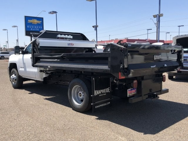 2019 Silverado 3500 Regular Cab DRW 4x2, Knapheide Dump Body #KF198928 - photo 1