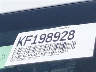 2019 Silverado 3500 Regular Cab DRW 4x2,  Knapheide Rigid Side Dump Body #KF198928 - photo 26