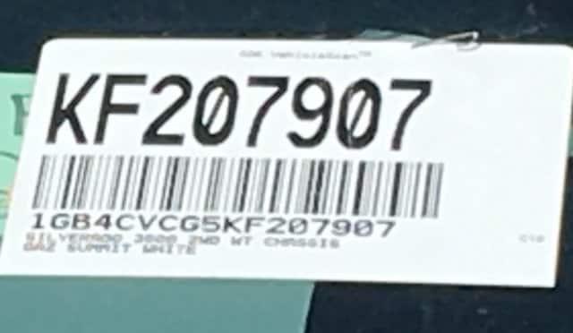 2019 Silverado 3500 Crew Cab DRW 4x2,  Knapheide Standard Service Body #KF207907 - photo 21