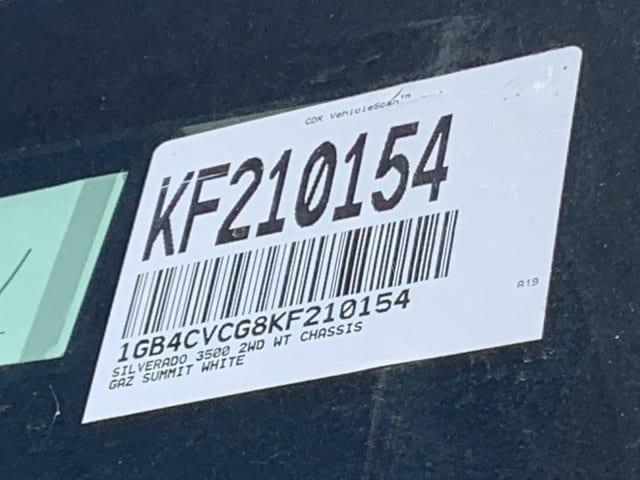 2019 Silverado 3500 Crew Cab DRW 4x2,  Knapheide Standard Service Body #KF210154 - photo 22