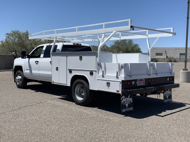 2019 Silverado 3500 Crew Cab DRW 4x2,  Harbor ComboMaster Combo Body #KF210545 - photo 2