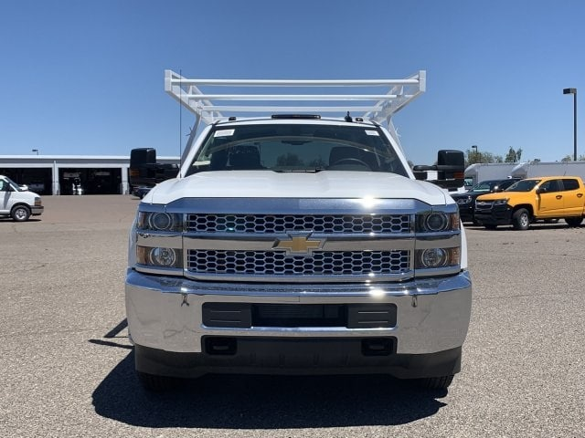 2019 Silverado 3500 Crew Cab DRW 4x2,  Harbor ComboMaster Combo Body #KF210545 - photo 7