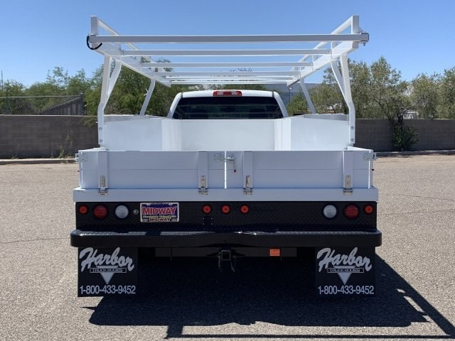 2019 Silverado 3500 Crew Cab DRW 4x2,  Harbor ComboMaster Combo Body #KF210545 - photo 8
