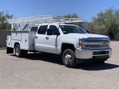 2019 Silverado 3500 Crew Cab DRW 4x2,  Harbor ComboMaster Combo Body #KF210545 - photo 3