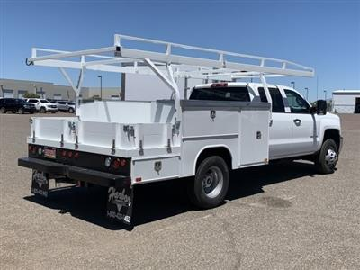 2019 Silverado 3500 Crew Cab DRW 4x2,  Harbor ComboMaster Combo Body #KF210545 - photo 4