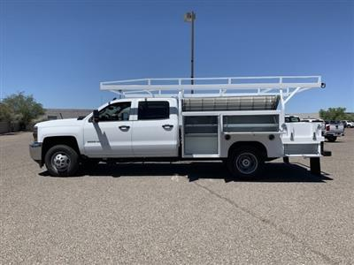 2019 Silverado 3500 Crew Cab DRW 4x2,  Harbor ComboMaster Combo Body #KF210545 - photo 5