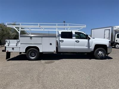 2019 Silverado 3500 Crew Cab DRW 4x2,  Harbor ComboMaster Combo Body #KF210545 - photo 6