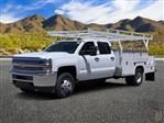 2019 Silverado 3500 Crew Cab DRW 4x2,  Harbor ComboMaster Combo Body #KF210545 - photo 1