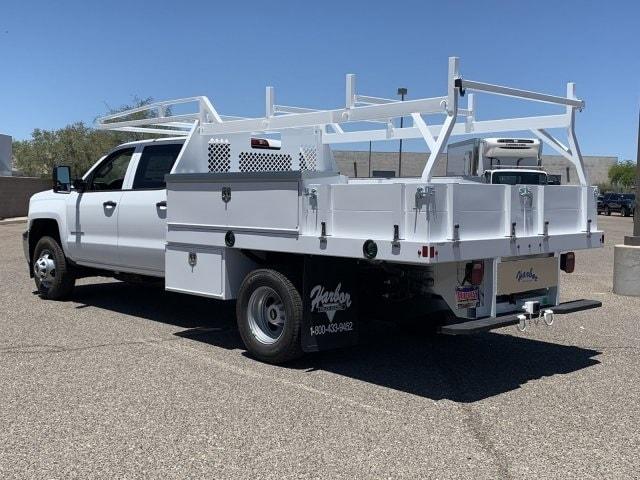 2019 Silverado 3500 Crew Cab DRW 4x2,  Harbor Contractor Body #KF210656 - photo 1