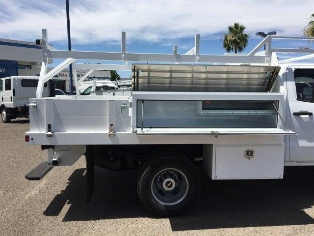 2019 Silverado 3500 Crew Cab DRW 4x2,  Harbor Standard Contractor Body #KF211633 - photo 7