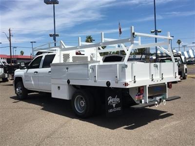 2019 Silverado 3500 Crew Cab DRW 4x2,  Harbor Standard Contractor Body #KF211633 - photo 2