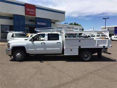 2019 Silverado 3500 Crew Cab DRW 4x2,  Harbor Standard Contractor Body #KF211633 - photo 5