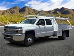 2019 Silverado 3500 Crew Cab DRW 4x2,  Harbor Contractor Body #KF211633 - photo 1