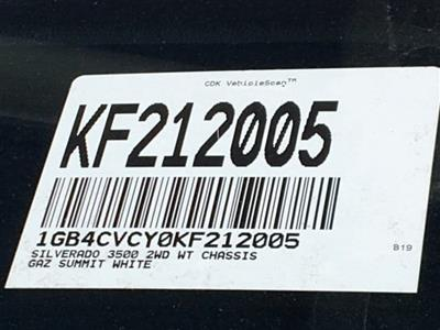 2019 Silverado 3500 Crew Cab DRW 4x2,  Harbor ComboMaster Combo Body #KF212005 - photo 23