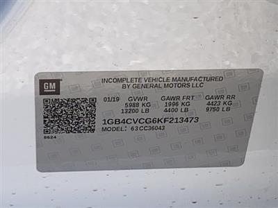 2019 Silverado 3500 Crew Cab DRW 4x2,  Harbor Standard Contractor Body #KF213473 - photo 23