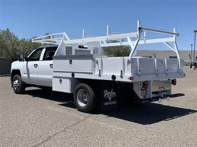 2019 Silverado 3500 Crew Cab DRW 4x2,  Harbor Standard Contractor Body #KF213473 - photo 2