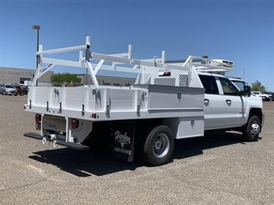 2019 Silverado 3500 Crew Cab DRW 4x2,  Harbor Standard Contractor Body #KF213473 - photo 4
